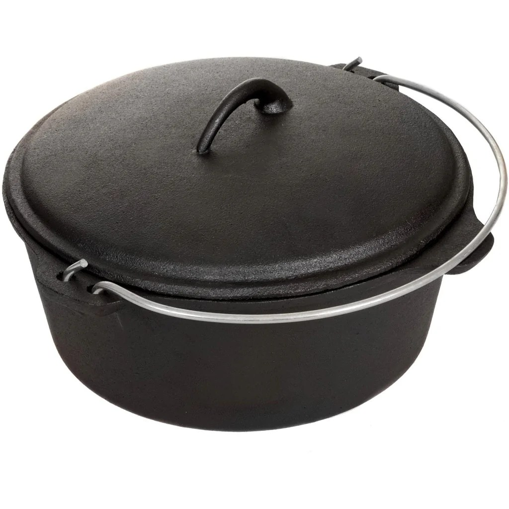 5-Quart Cast Iron Dutch Oven