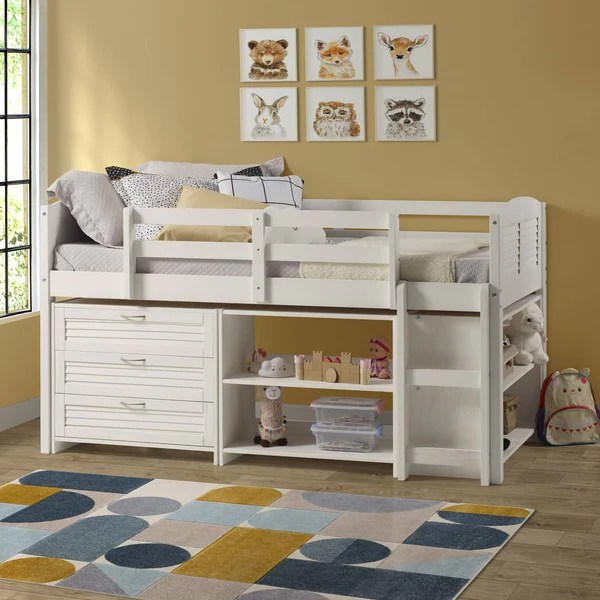 twin bed frames for kids and bedroom