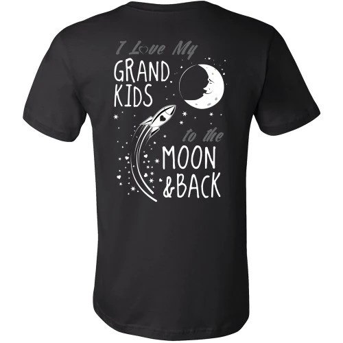 Download I Love My Grandkids To The Moon and Back - Back Design