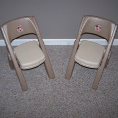 Step 2 Chair Best Back Support For Office Uk Vintage Plastic Children Folding Chairs Lot Of Bert S Internet Thrift Store