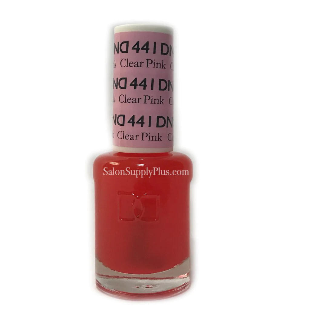 441 - dnd lacquer clear pink