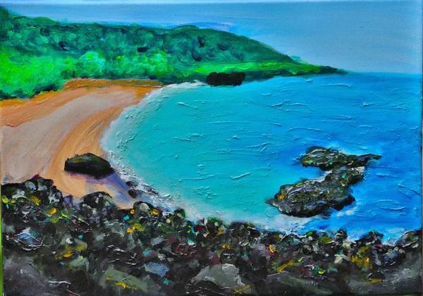 Waimea Bay North Shore Oahu MICHAL ABRAMOVITZ