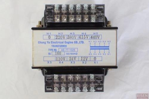 100 Circuit Wiring Diagram 160va 1ph Ac Control Transformer Pri 220 380 415 440v Sec