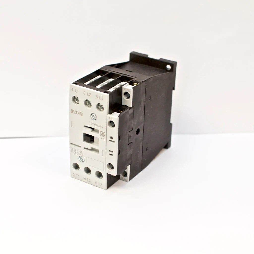 eaton moeller contactor dilm17 01 220v coil voltage 3 phase nc xtce018c01ao  [ 1024 x 1024 Pixel ]