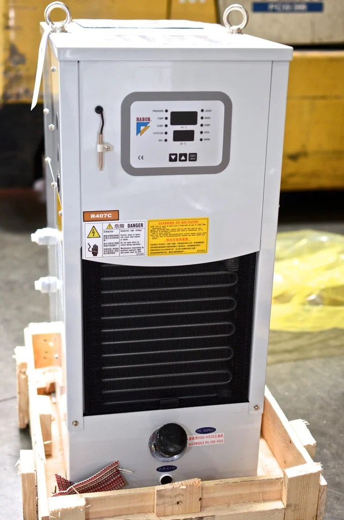 Spindle Oil Cooler Oil Chiller For Cnc 4000 Btu Habor