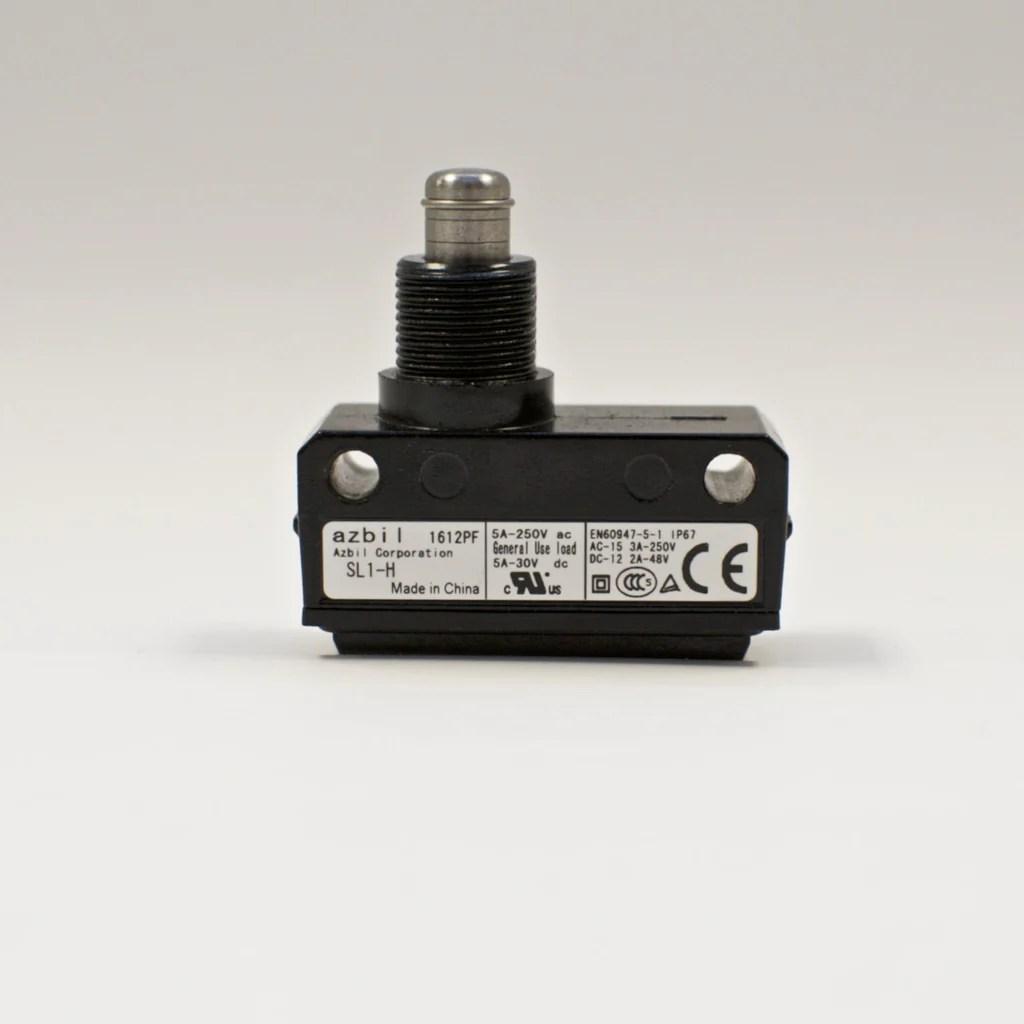 Yamatake / Azbil SL1-H Limit Switch / Micro Switch with Plunger Type – Eisen Machinery Inc