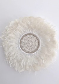 Cabo Gypsy | Feather Shell Wall Hanging | White Bohemian Store