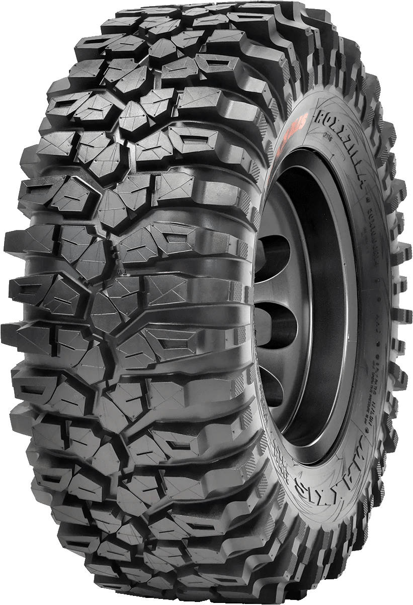 maxxis roxxzilla tire 8ply rock crawler new sizes and compounds [ 821 x 1200 Pixel ]