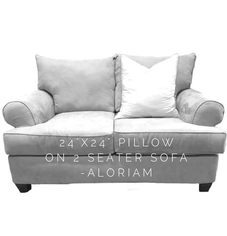 24x24 pillow covers in designer fabrics