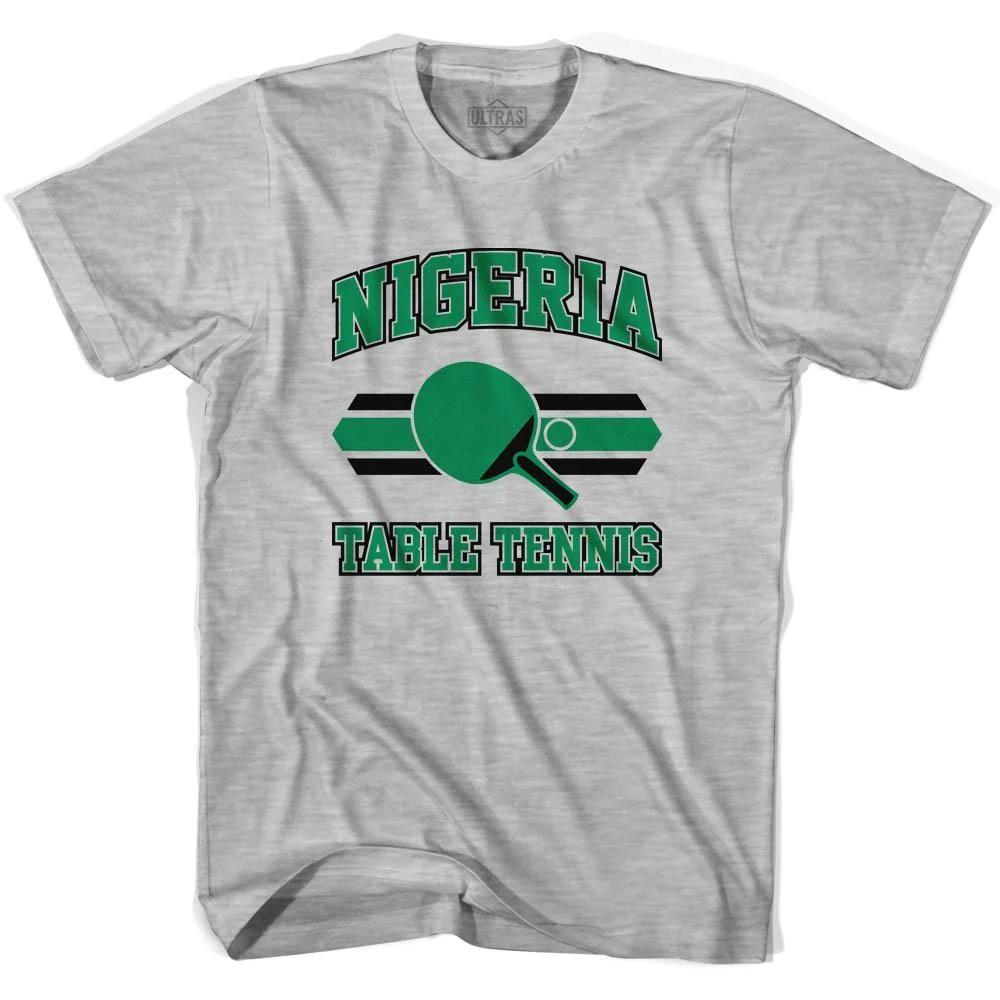 Nigeria Table Tennis Womens Cotton T-shirt Ultras