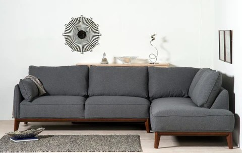 large dark grey corner sofa are klaussner sofas good quality kendall amber and ellis