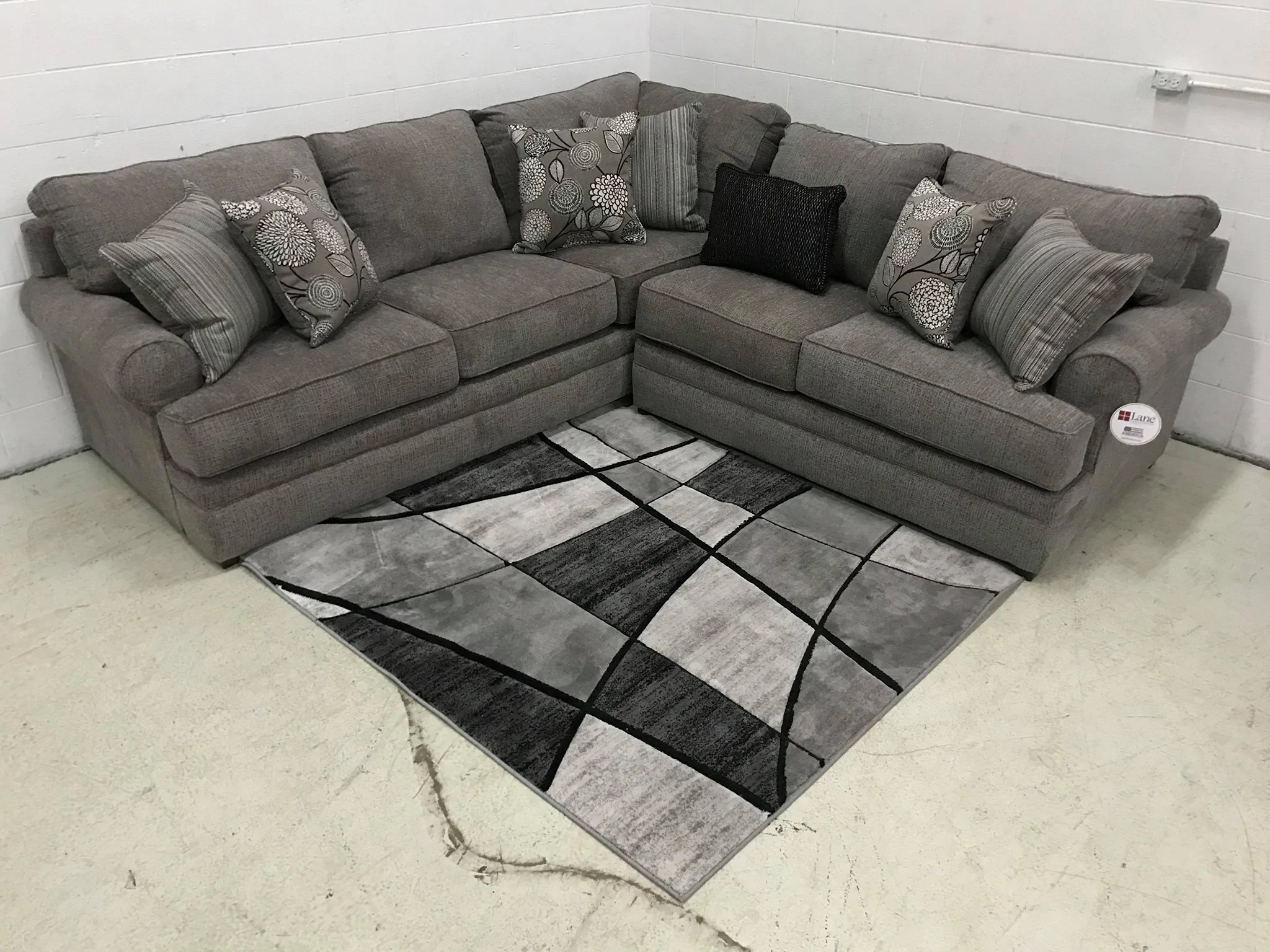 weekly or monthly macy pewter sectional
