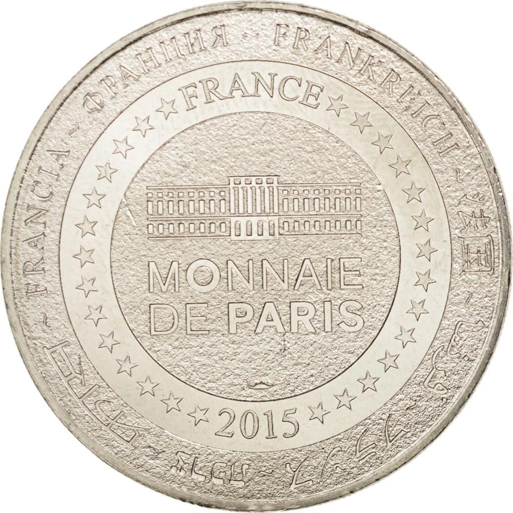 Details About 94398 France Tourist Token 29 Cathedrale De Quimper Le Roi Gradlon