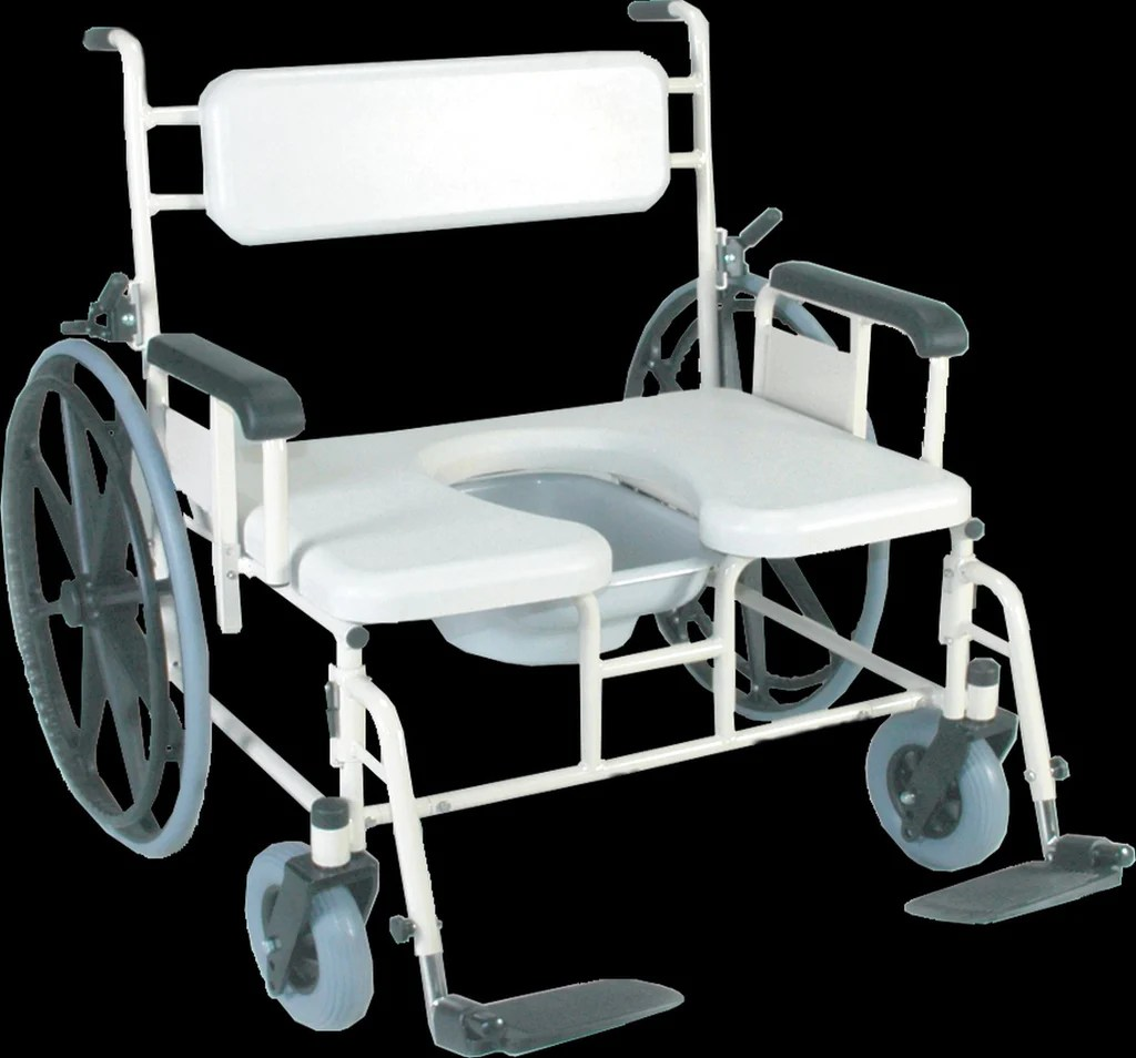 Shower Chair With Wheels Convaquip Bariatric Shower Commode Transport Chair Model