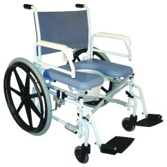 Rolling Bath Chair Pressure Sore Cushions For Chairs Tuffcare Shower Commode S990  1stseniorcare