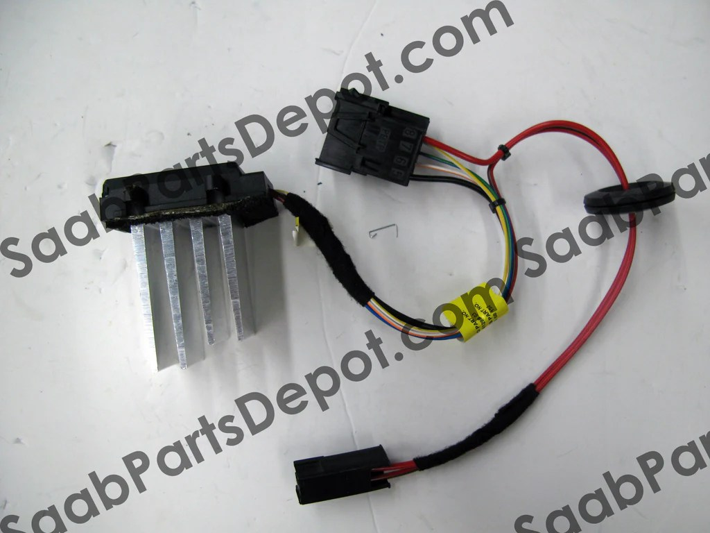 hight resolution of  free ground shipping genuine saab hvac fan speed controller 5468152 9 5