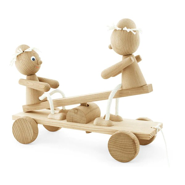 Wooden Pull Along See Saw Toy Pull Along Toys Toys For