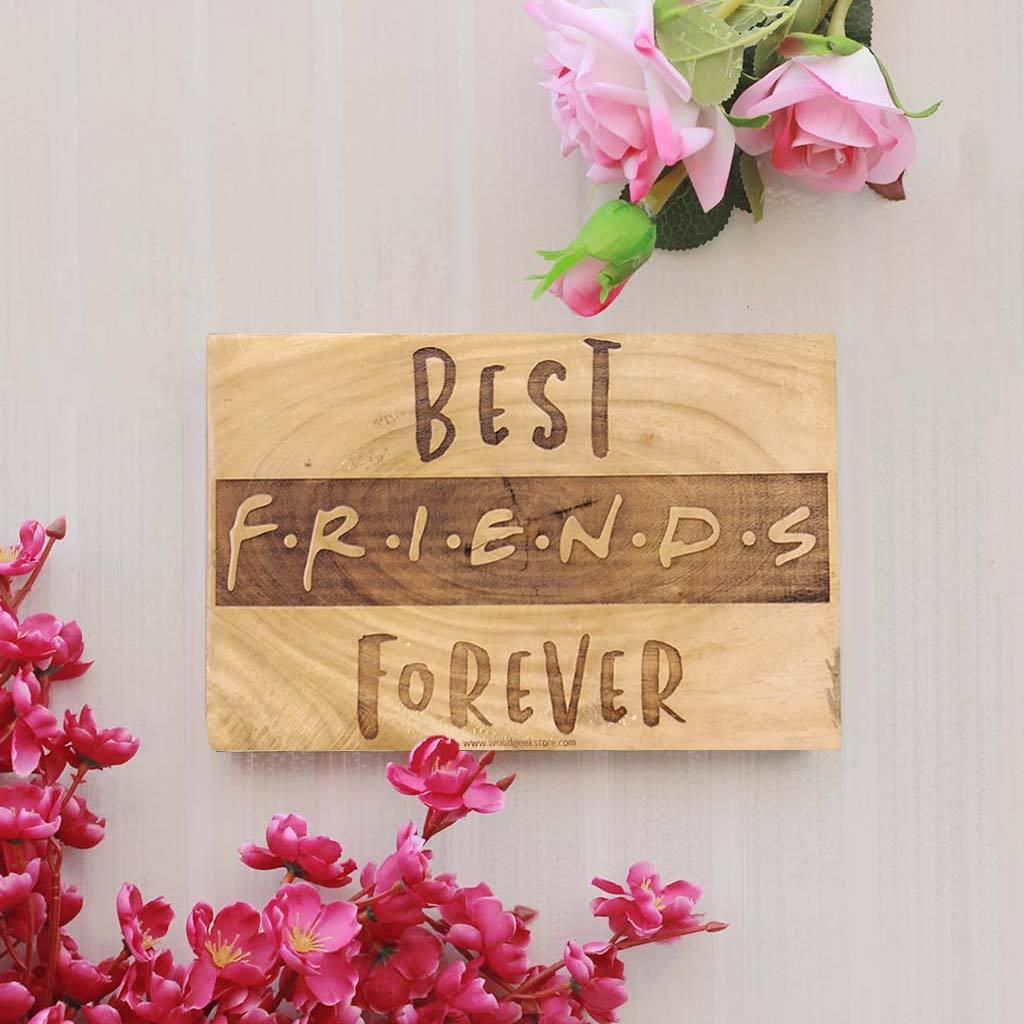 best friends forever engraved