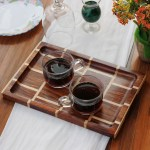 Wooden Trays Wooden Kitchen Ware Decorative Serving Trays Woodgeekstore