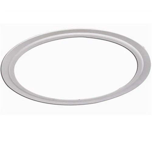 ctr6 6 glossed white oversized ring recessed trim in stock lighting