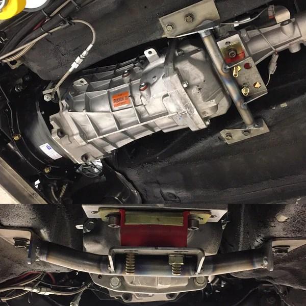T56 Magnum transmission conversion swap crossmember