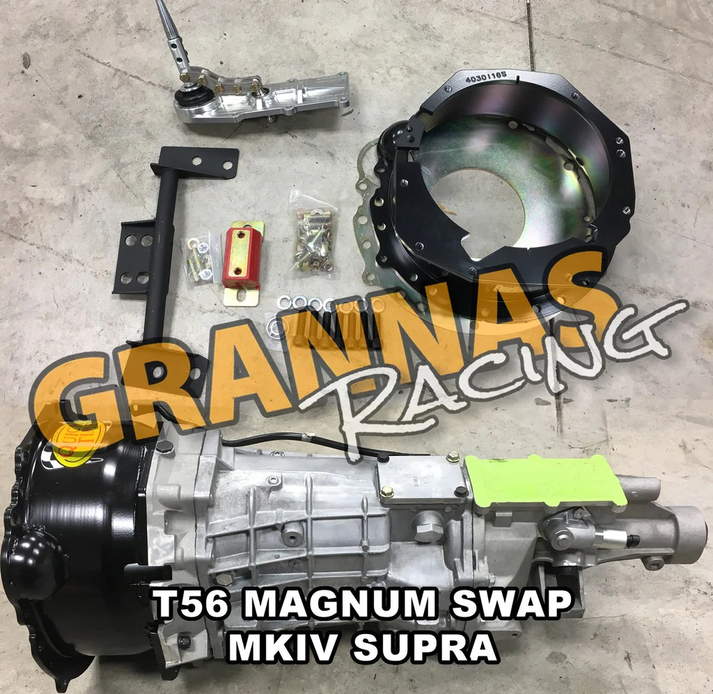 small resolution of t56 magnum toyota supra swap kit mkiv 2jz