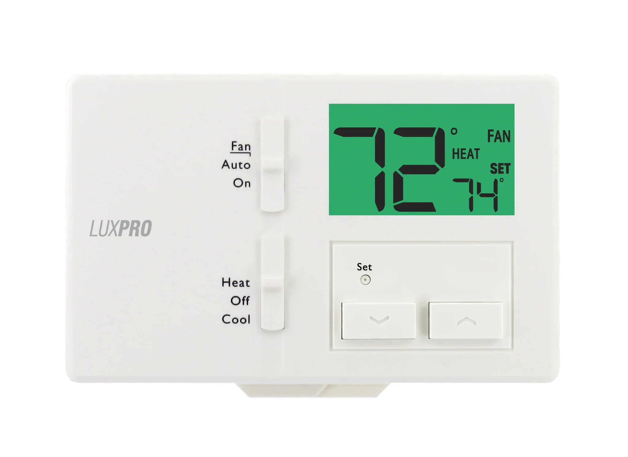 hight resolution of luxpro thermostat 2wire wiring diagram example electrical wiring 3m thermostat diagram luxpro p111 non programmable thermostat