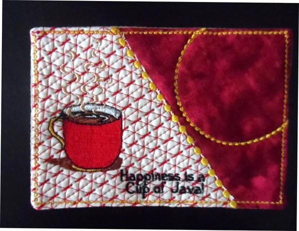 Cup Of Java AND Cup Of Hot Chocolate Mug MatMug Rug In