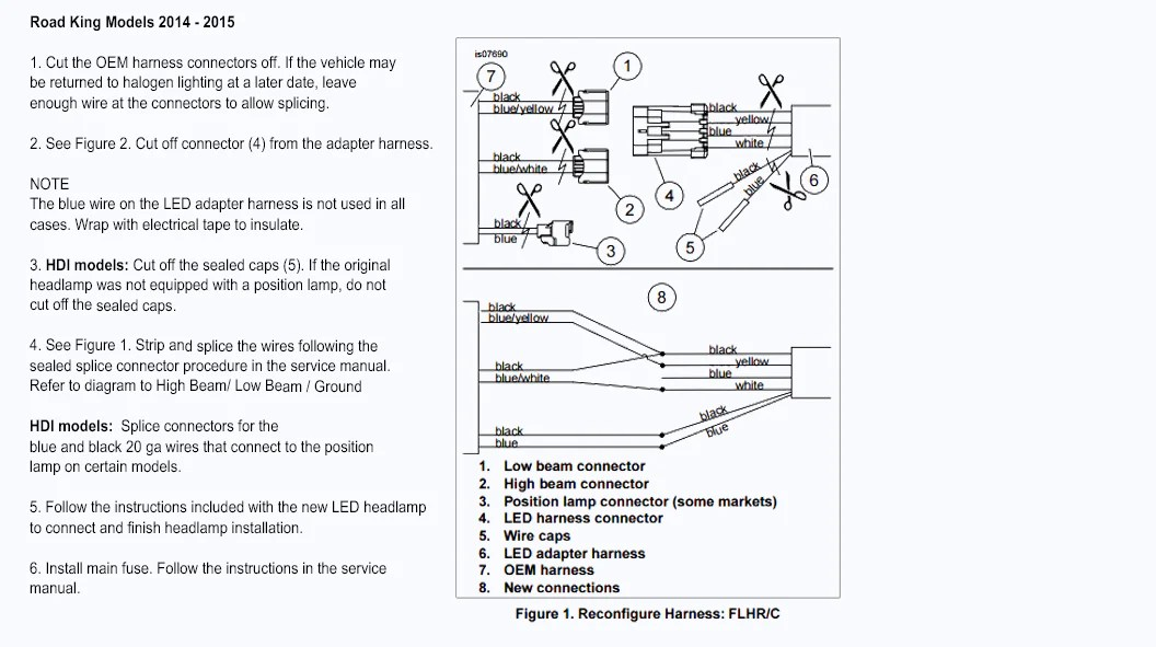 H4 Headlight Socket Wiring Diagram Instructions Eaglelights