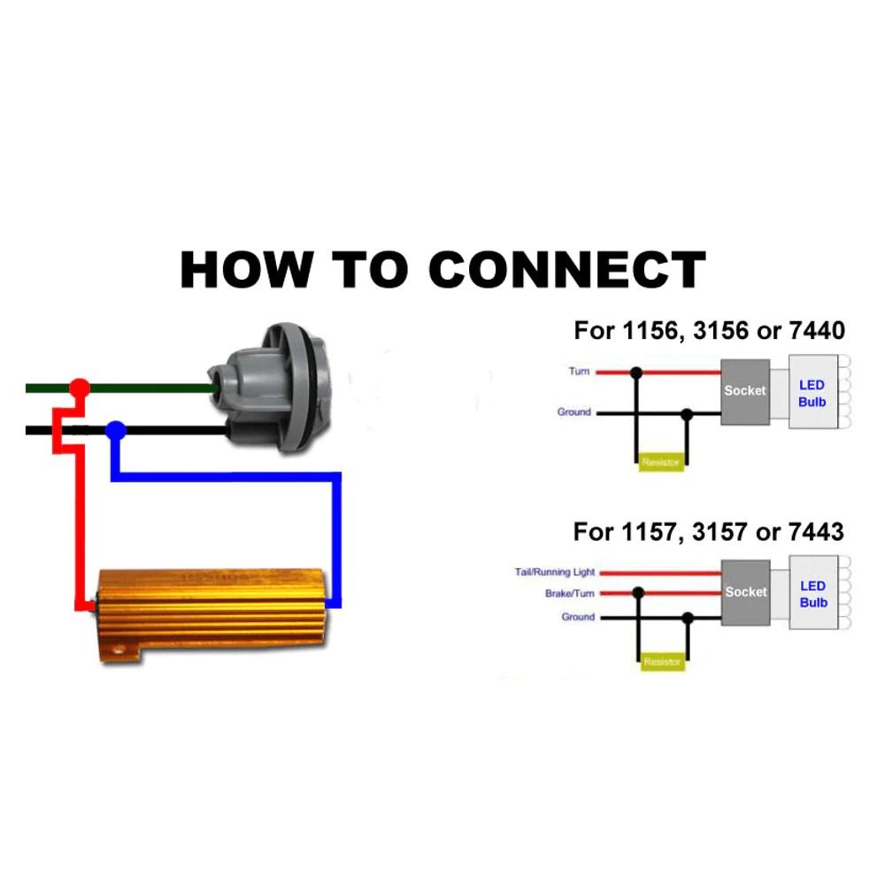 hight resolution of eagle lights load resistors for 8748 series led turn signals eaglelights