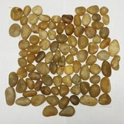 Kitchen Sheet Vinyl Flooring Paula Deen Table Earth Stone Yellow Polished Pebble Tile – Sognare ...