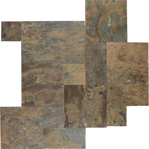 California Gold Gauged Slate TIle  Sognare Tile Stone
