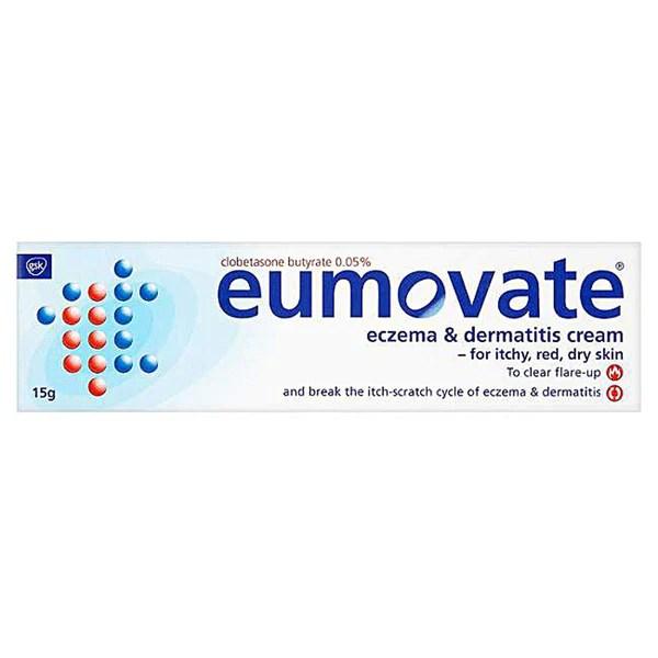 Eumovate Eczema & Dermatitis Cream 0.05% 15g - Pharmacyfix