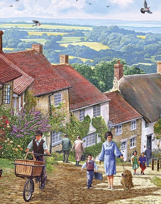 Gold Hill 100XXL Piece Jigsaw Puzzle Dementia Action Week