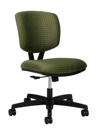 swivel office chair without arms brown covers volt tilt grade 3 fabric atd capitol