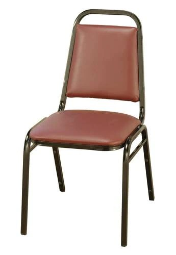 upholstered stacking chairs comfy arm chair vinyl 1 2 seat atd capitol