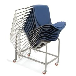 Stackable Padded Chairs Rope Rocking Chair Multi Purpose Stacking Vinyl Seat Back Atd Capitol You Can Stack Up To 25 On Our Dolly Model 182026 Shown