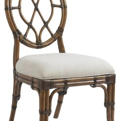 Sailcloth Beach Chairs Faux Leather Accent Chair Lexington Cedar Key Oval Back Side Wrapped Rattan Backs Seats