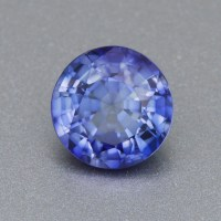 7mm Brilliant Round Periwinkle Blue Lab Created Sapphire ...