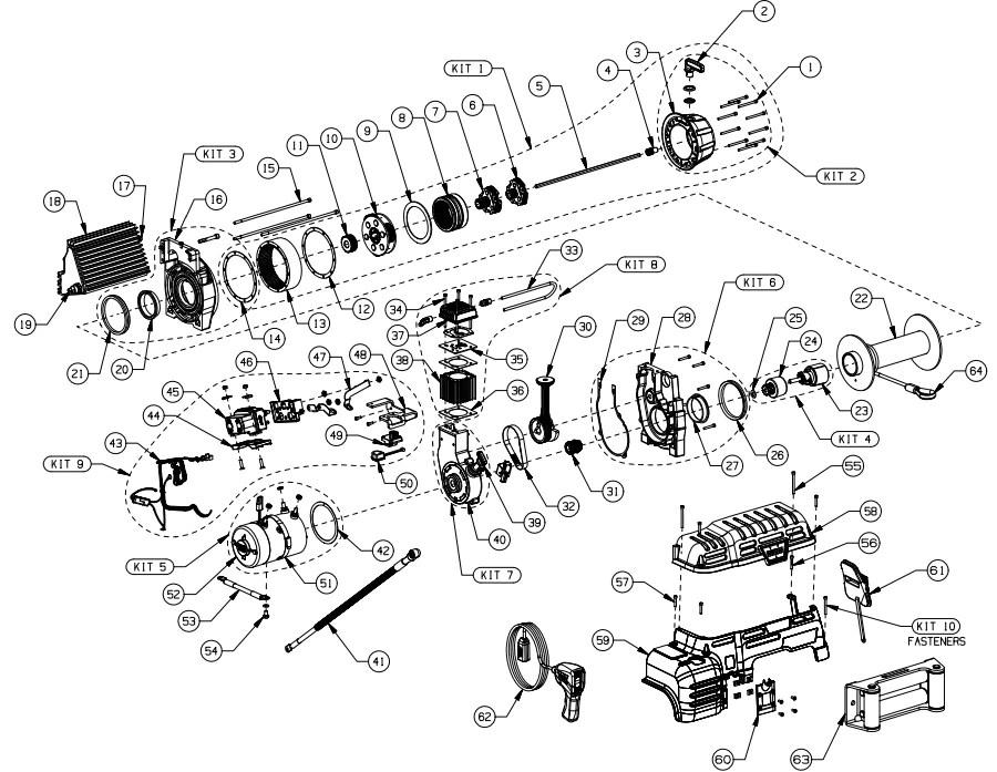 warn xd9000i solenoid wiring diagram jl 13w7 xd9000 new era of 8274 winch parts ce remote