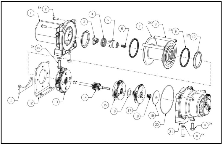 warn winch wiring diagram xd9000i uml layer parts and repair of - fuse box