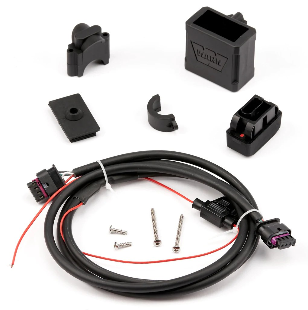 medium resolution of warn 100962 rockerbar service kit