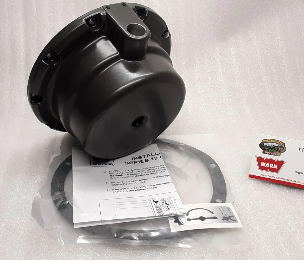 hight resolution of  warn 31684 gear end housing for series 12 15 industrial winch
