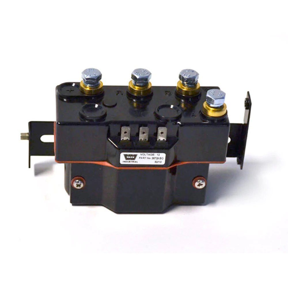 hight resolution of  warn 34977 winch contactor 12v for series 9 12 15 industrial winches