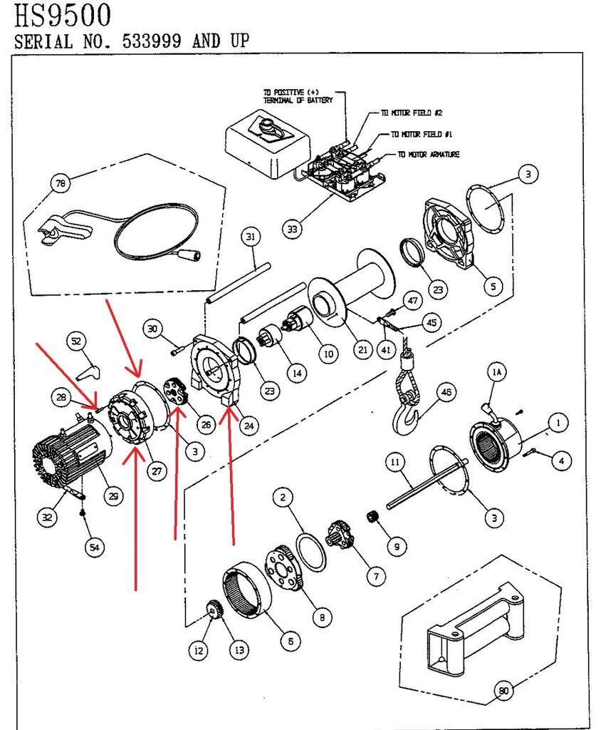 small resolution of warn 39433 winch drum support kit warn 39433 winch drum support kit