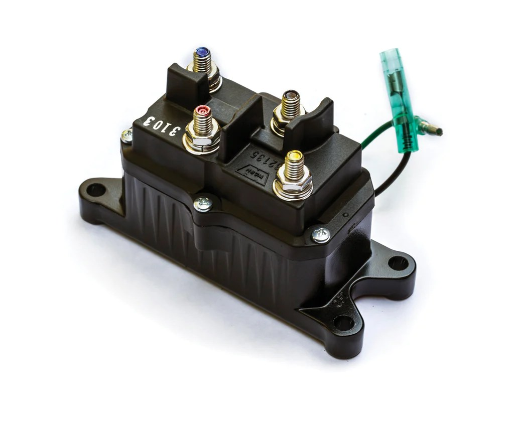 warn winch wiring diagram a2000 emg 81 60 12 volt contactor for atv winches free shipping