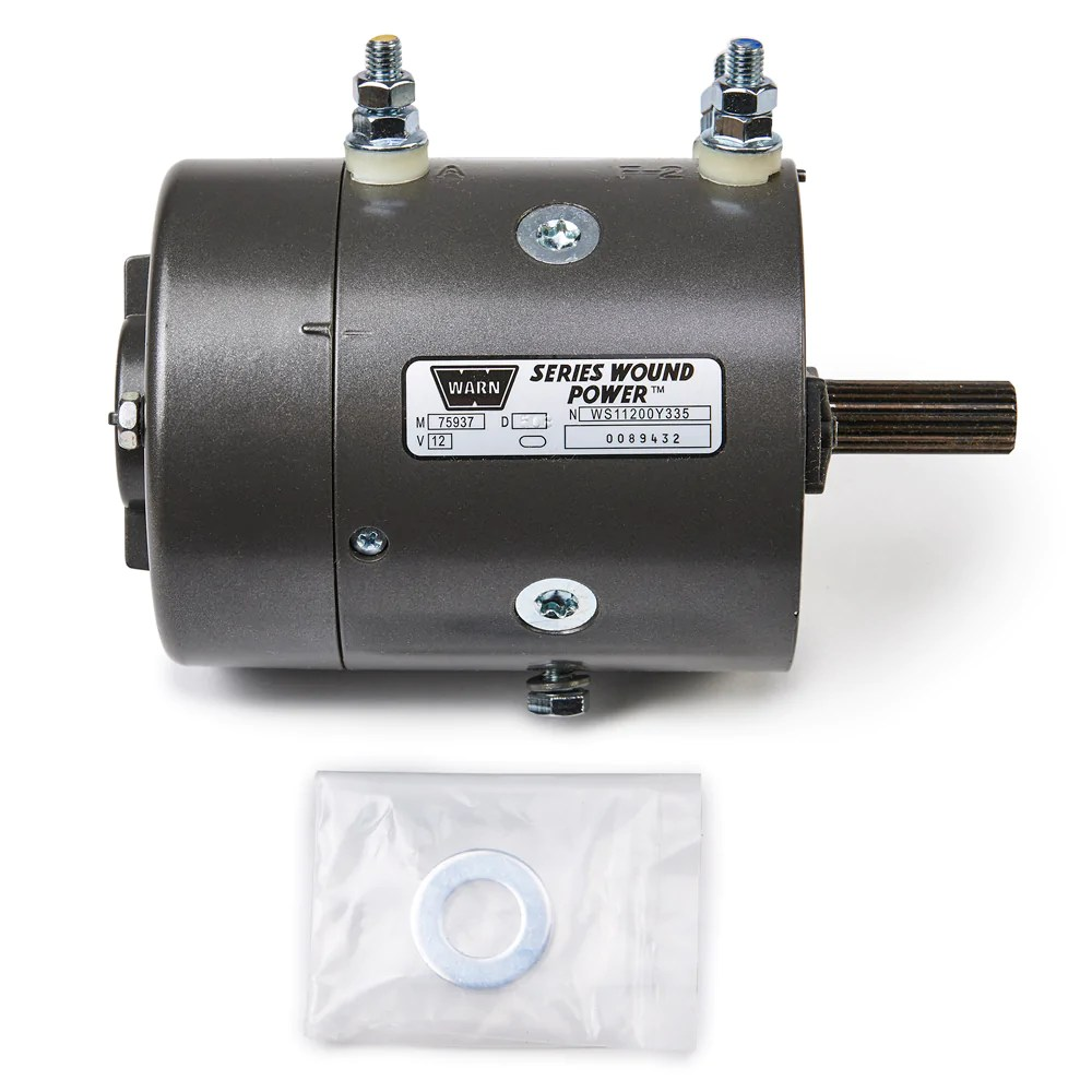 hight resolution of warn 77893 winch motor for m6000 m8000 replaces 25982 25314