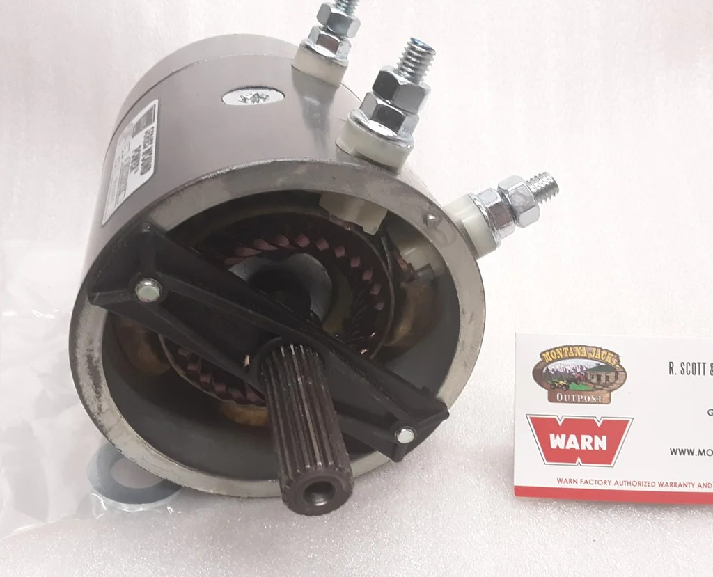 hight resolution of  warn 77893 winch motor for m6000 m8000