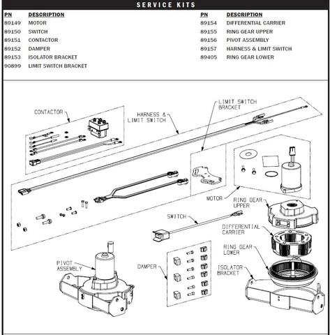limit switch wiring diagram 96 dodge ram ignition warn power pivot parts montana jack s outpost jacks 89152 damper kit for propivot