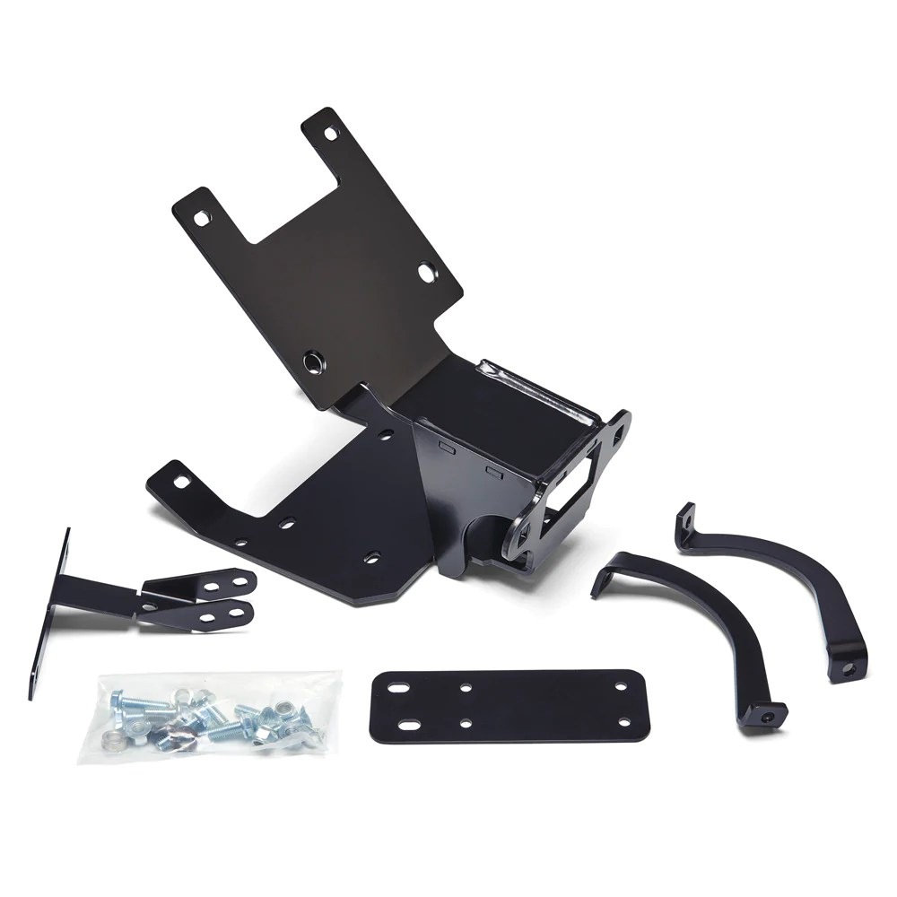 hight resolution of warn 89535 atv winch mount for 2012 17 can am renegade 500 570
